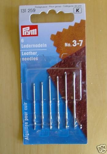 Prym Leather Sewing Needles