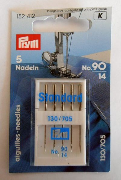 Prym Sewing Machine Needles 90/14