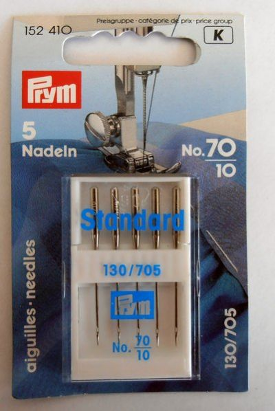 Prym Sewing Machine Needles 70/10
