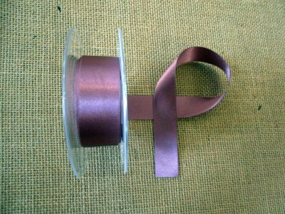 25mm Satin Ribbon Grape