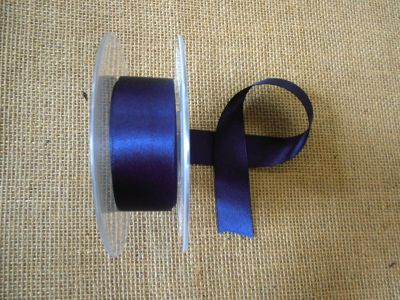 25mm Satin Ribbon Navy