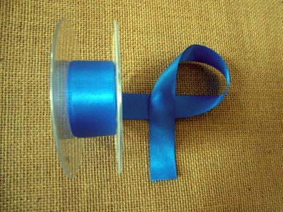 25mm Satin Ribbon Dark Royal