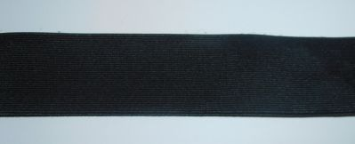 2 Inch 50mm Black Elastic Stretch Trim Haberdashery
