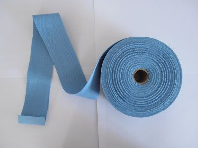 "Sky Blue 2"" Cotton Tape"
