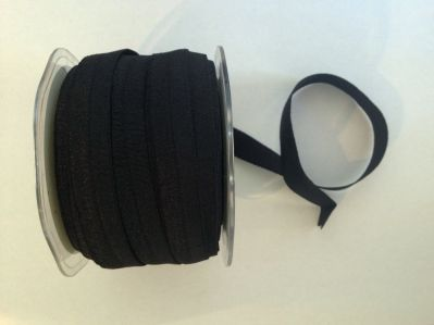 Black Elastic 15mm