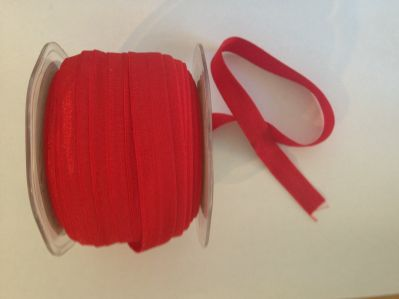 Red Elastic 15mm | Textile Express | Buy Fabric Online