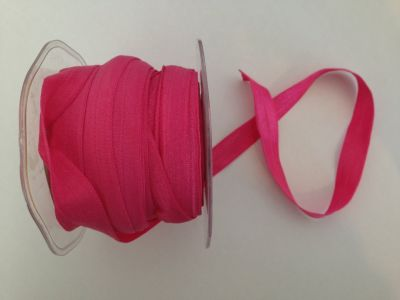 Hot Pink Elastic 15mm | Textile Express | Buy Fabric Online