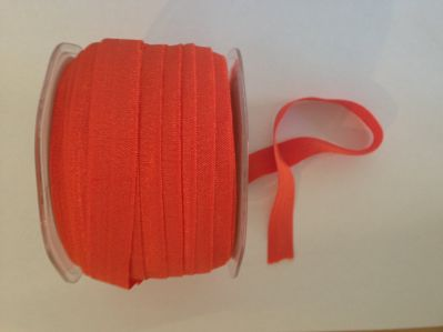 Orange Elastic 15mm | Textile Express | Buy Fabric Online