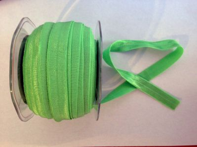 Green Elastic 15mm | Textile Express | Buy Fabric Online