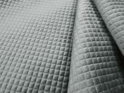 Quilted Velvet Silver A127