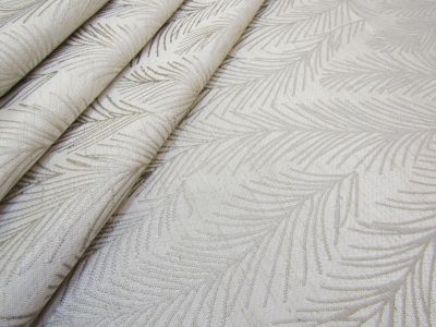 Jacquard Leaves Natural A183