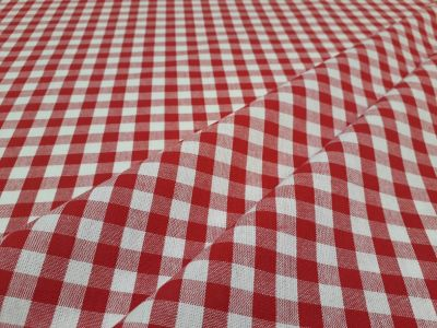 Classic Gingham Red A216