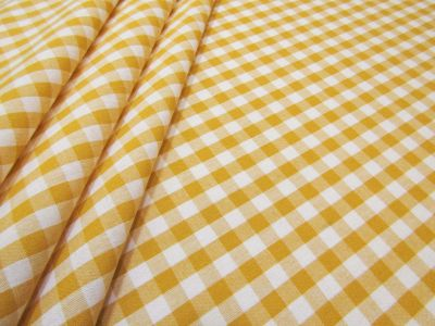 Classic Gingham Yellow A233