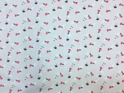 Bathers Grey Red A162