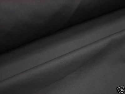 Extra Wide Sheeting Fabric Black