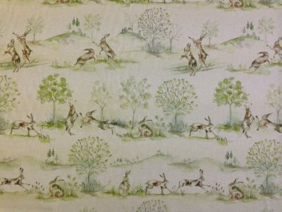 Voyage Boxing Hares Linen