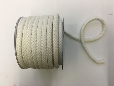 8mm Braided Cord Ivory