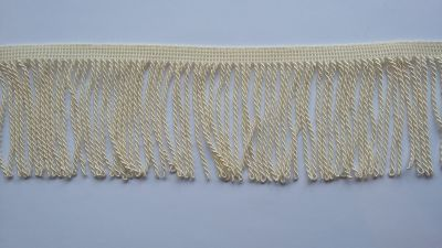 "Twisted Cream 3.5"" Bullion Fringe"