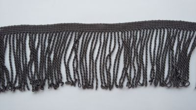 "Twisted Slate 3.5"" Bullion Fringe"