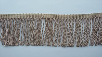 "Twisted Taupe 3.5"" Bullion Fringe"