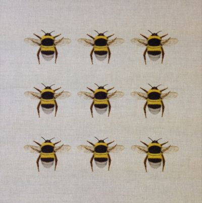 Bumblebee Collector Cushion Panel