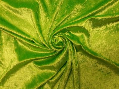 Fluorescent Lime Velour C4218