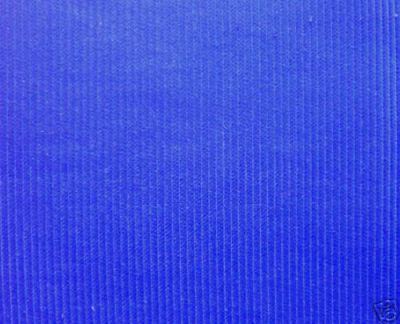 Royal Blue Corduroy Fabric