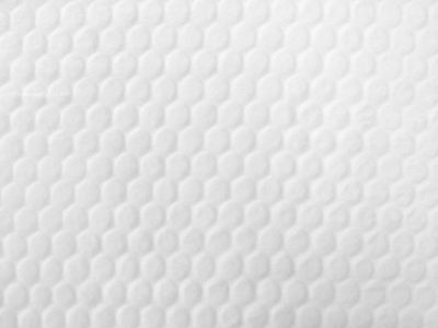 Honeycomb Super Soft Fleece White C34
