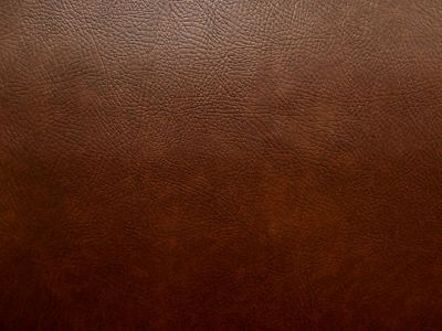 Flame Retardant Brown Faux Leatherette Fabric