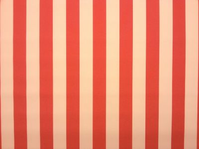 Heavyweight Water Resistant Stripe Red