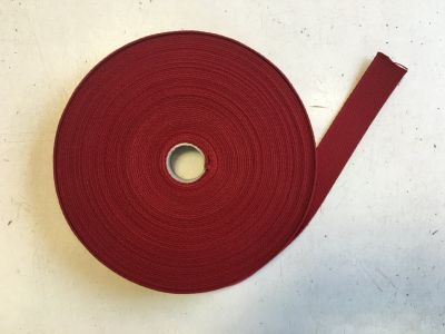 Cotton Webbing Wine 072
