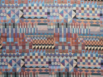 D30 ST Aztec Squares Tapestry Fabric