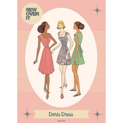 Sew Over It Doris Dress Sewing Pattern