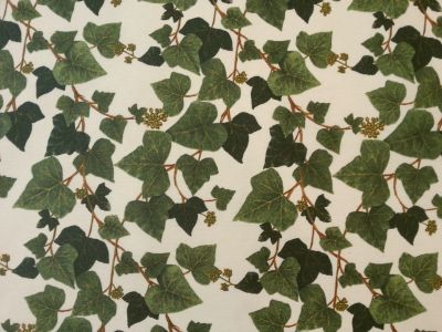 CGF Edera Teflon Fabric Green Cream  Sample