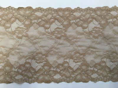Wide Elastic Lace Nude 062