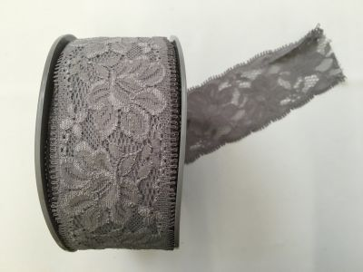 Elastic Lace Silver 033