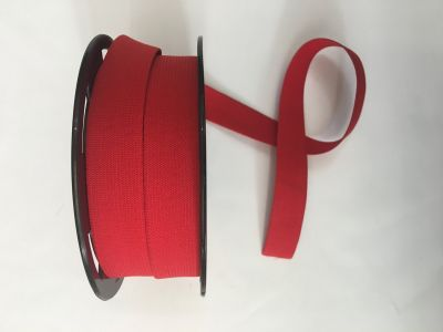 "1"" Elastic Ribbon Red"