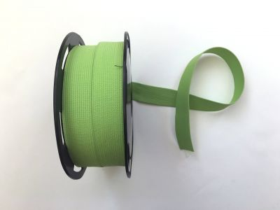 "1"" Elastic Ribbon Green"