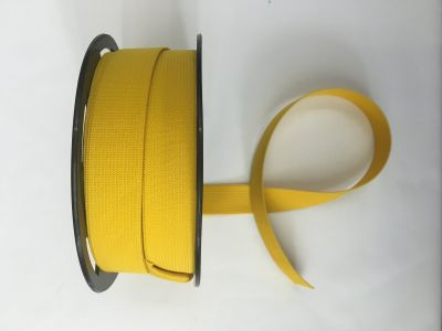 "1"" Elastic Ribbon Yellow"