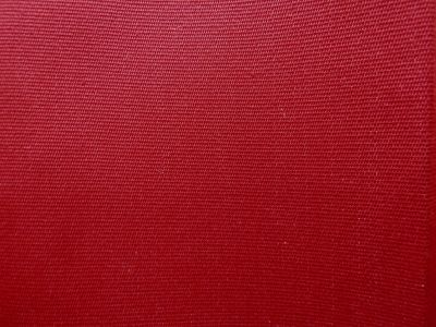 Deckchair Fabric Plain Red