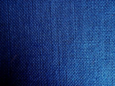 Navy Blue Hessian Fabric