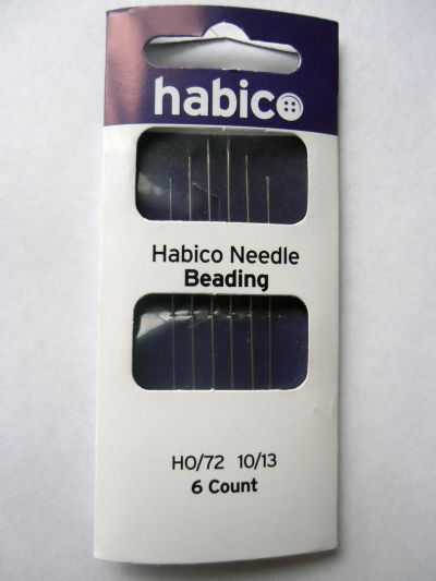 Habico Beading Needles pack of 6 10/13