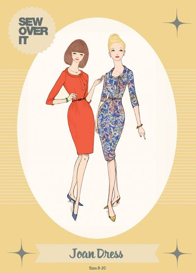 Sew Over It Joan Dress Sewing Pattern