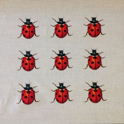 Ladybird Collector Cushion Panel