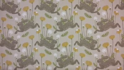 Clarke and Clarke March Hare Linen