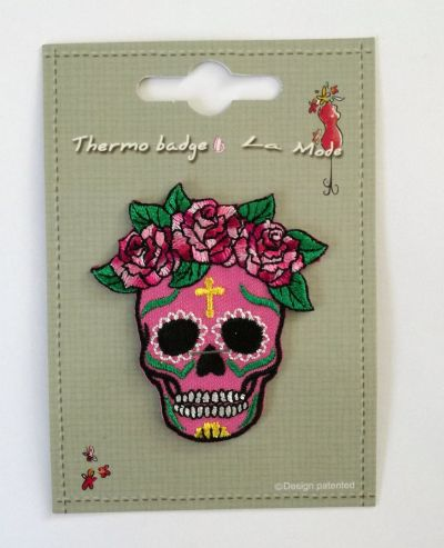Calavera Patch