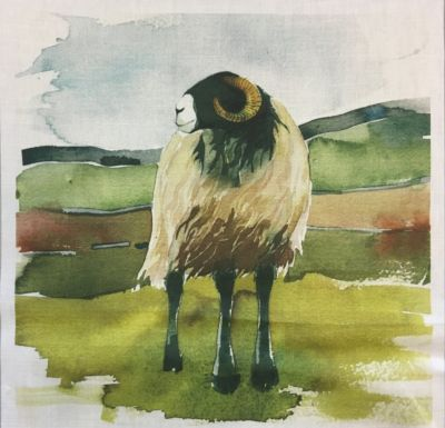 Voyage Cushion Panel Moorland Ram