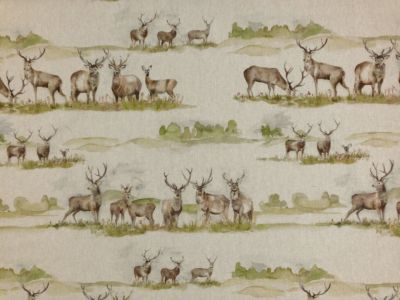 Voyage Moorland Stag Linen