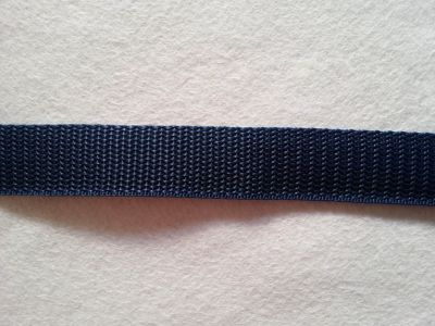 "Bag Strap Webbing Tape 1"" Navy"