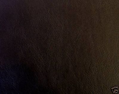 Flame Retardant Black Faux Leatherette Fabric